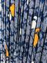 Vestido em Seda  dos Anos 90 Feito à Mão com tecido Yves Saint Laurent