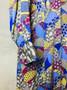Vestido dos Anos 90 em Seda Feito à Mão e Forrado a Seda