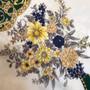 Lenço vintage em seda // Vintage silk scarf 057