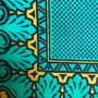 Lenço em Seda Verde // Green Silk Scarf