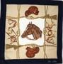 "Lenço em Seda ""Cavalo"" // Silk Scarf ""Horse"""