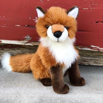 Auswella Plush Woodland Fox Ash