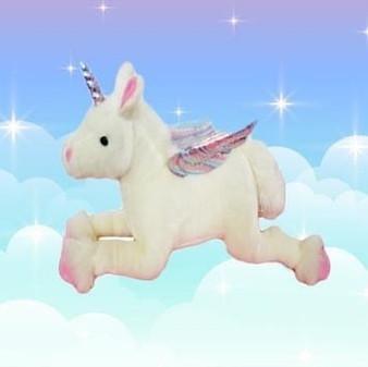 Auswella ® Princess Shimmer Plush Unicorn ©