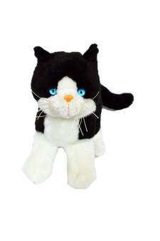 Mittens Tuxedo Plush Kitten