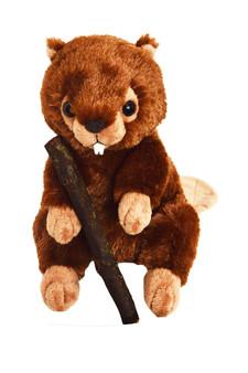 Theodore 9 Inch Woodland Plush  Beaver