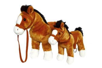 12 Inch Copper Golden Brown Horse ©