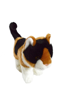 8 Inch Calico Plush Juju Bean