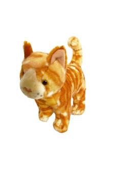 8 Inch Mini Orange Tabby Cat Twinkie