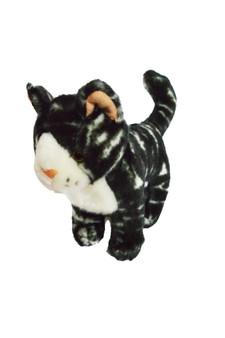 8 Inch Mini Marbled Bengal Tabby Cat Lennox