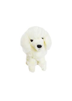 8 Inch  Mini White Poodle Elle