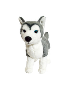 8 Inch  Mini Siberian Husky Nora
