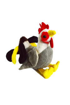 8 Inch  Mini Rooster Plush Barcelos