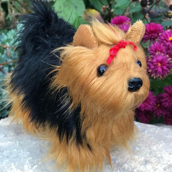 8 Inch Mini Plush Yorkshire Terrier Tilly