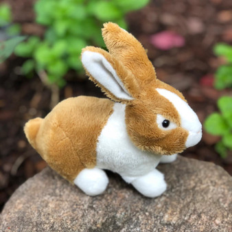 8 Inch Plush Mini Dutch Bunny Nibbles