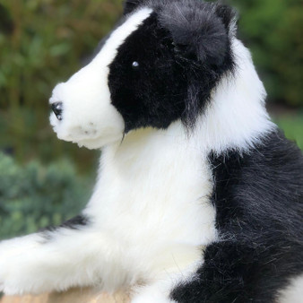 Cedric Plush Border Collie- Plush Stuffed Animal Cuddle Toy