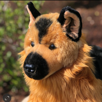Colonel Plush German Shepherd Dog