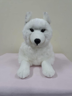 Osceola 20 Inch  Laying Wolf - Preorder Ships in July
