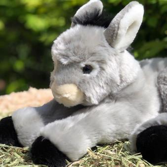 New- Ceci Gray Plush Donkey - Coming Soon