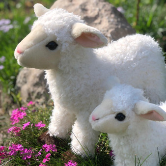 New Coming Soon- Sweezie™ Large Plush Lamb