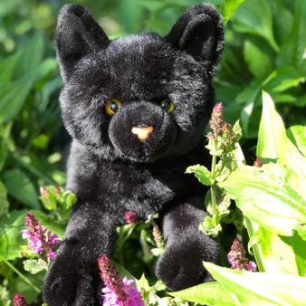 Auswella Plush Floppy Black Cat