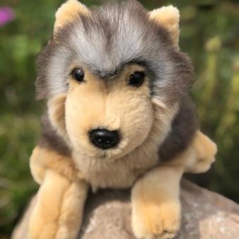 plushies timber wolf