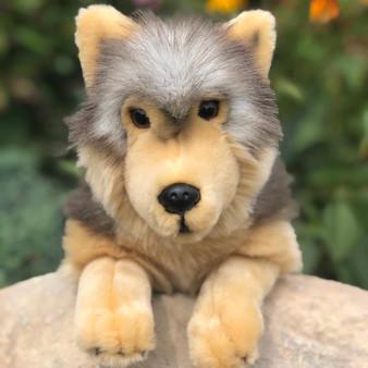Timber Wolf Plush Stuffed Animal