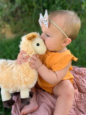 Meadow Loves Her Little Lana Llama©