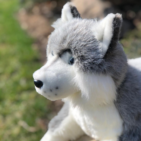 Mika 27 Inch Husky Plush Stuffed Animal