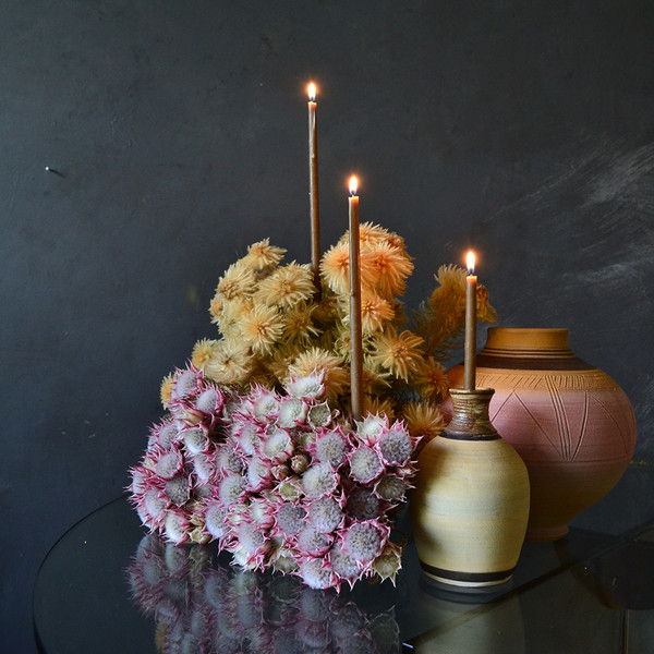 blushing-bride-styled-with-candles-lit