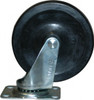 "5"" Silver Plate Caster, Double Ball Bearing"
