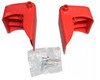 Rubbermaid Single Drawer Hardware Kit • Red • Fits 4512, 4532, 4533, 4548