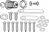 Door Hardware Kit (Lock) For Trademaster