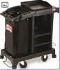 Sub-compact cleaning cart
