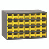Cabinet, 19-Series Steel Cabinet w/ 28 Drawers 19228YEL
