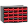 Cabinet, Steel Cabinet w/ 20 Drawers, Red  19320RED