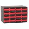 Cabinet, Steel Cabinet w/ 16 Drawers, Red  19416RED