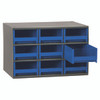 Cabinet, Steel Cabinet w/ 9 Drawers, Blue  19909BLU