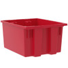 Tote, Nest & Stack Tote 19-1/2 x 15-1/2 x 10  35190RED
