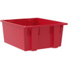 Tote, Nest & Stack Tote 23-1/2 x 19-1/2 x 10  35225RED