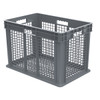 Container, Straight Wall Container, Mesh   37616GREY