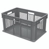 Container, Straight Wall Container, MeshSolid   37672GREY
