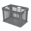 Container, Straight Wall Container, MeshSolid   37676GREY