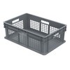 Container, Straight Wall Container, MeshSolid   37678GREY