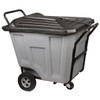 Cart, Akro-Cart w/Lid HD 90 Gal 76591GREY