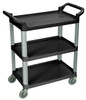 Serving Cart 3 shelves BLACK SC12-B