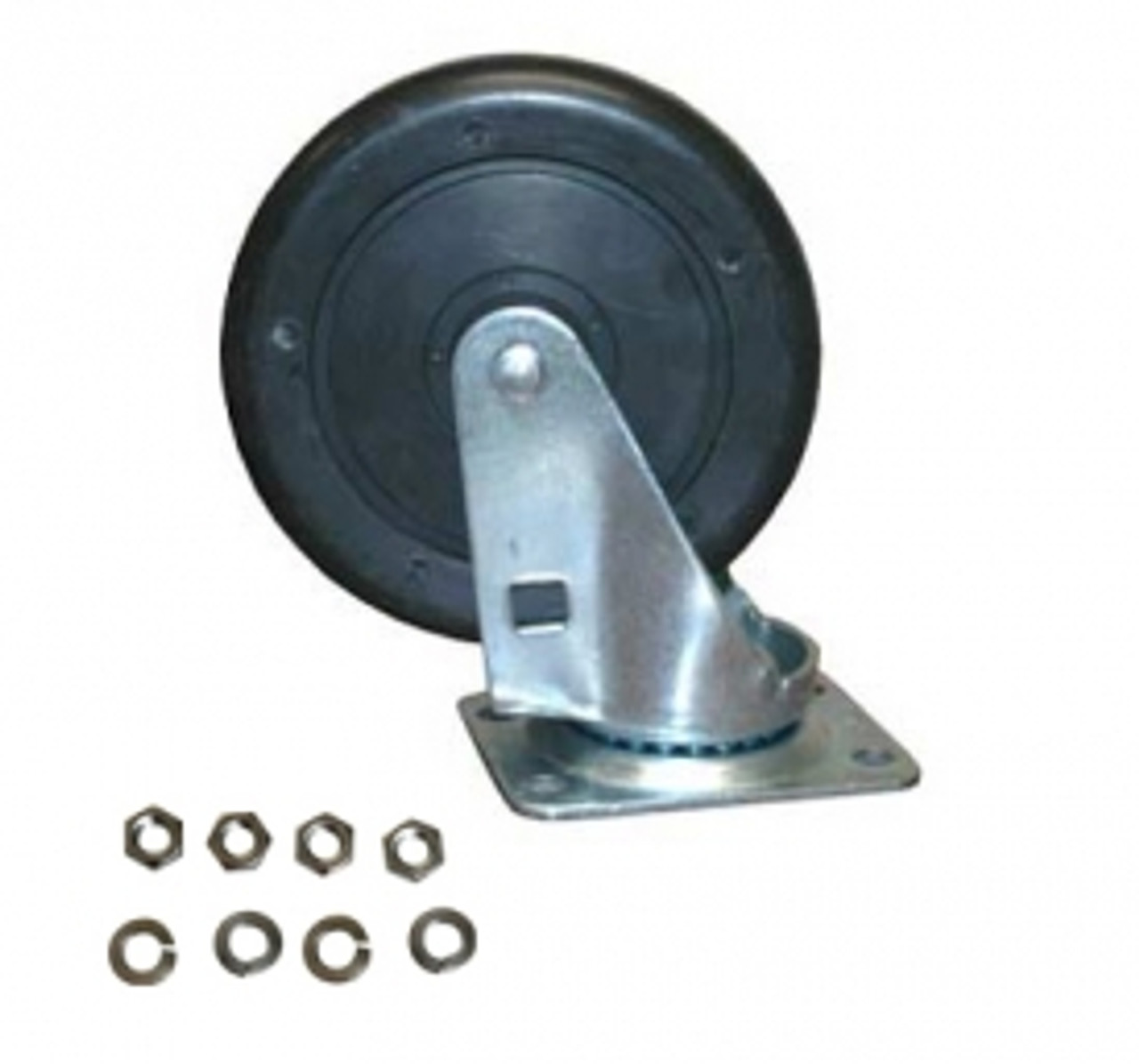 5 inch Swivel Caster with Hardware