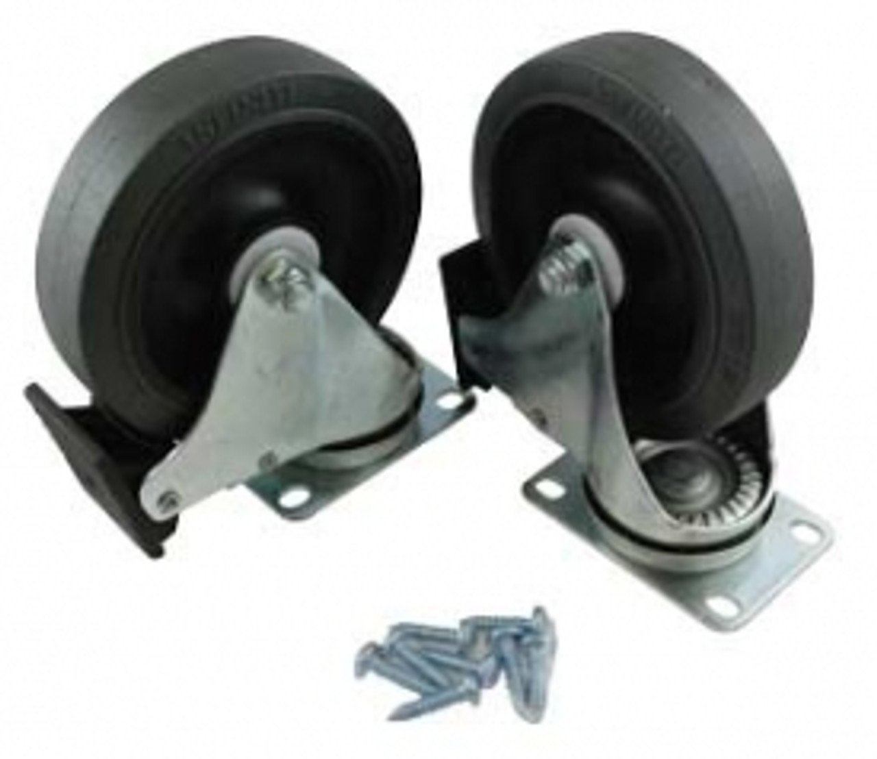 "Rubbermaid 5"" Diameter Caster Kit for 9W71 and 9W73 carts"