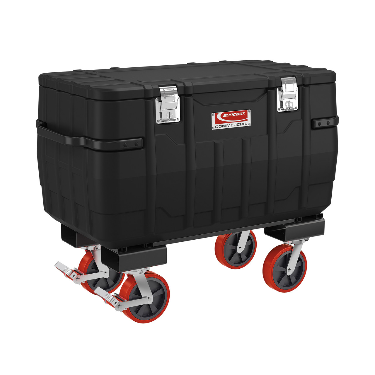 """Suncast 48"""" Job Box with Fork Lift and Casters"""
