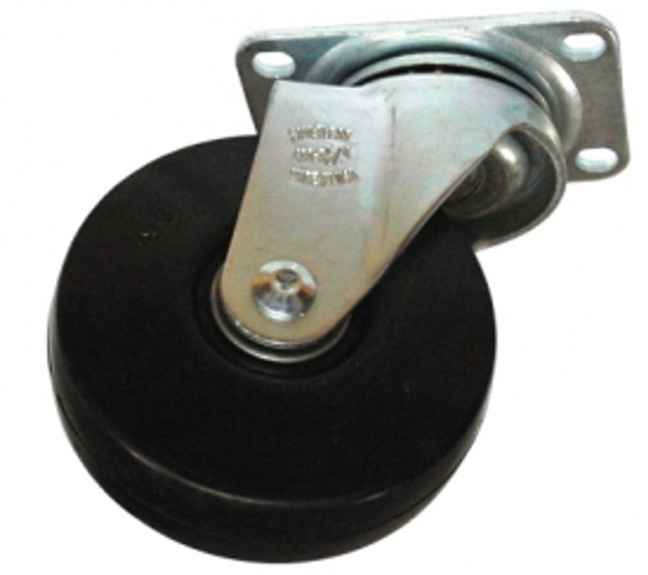 "Replacement 4"" Caster for the 3/4"" Std. Duty Rubbermaid Tilt Truck"