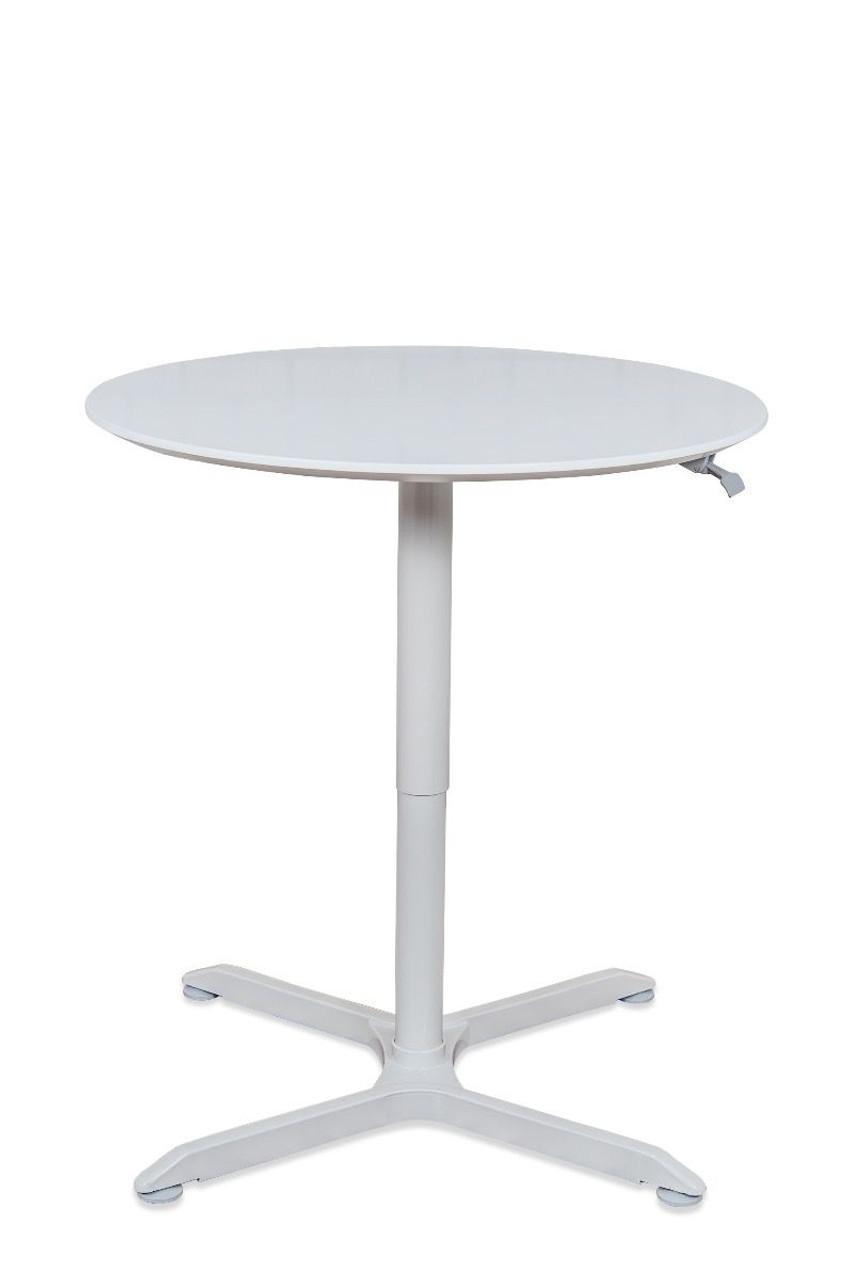 """32"""" PNEUMATIC HEIGHT ADJUSTABLE ROUND TABLE"""